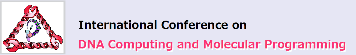 International Conference on DNA Computing and Molecular Programming